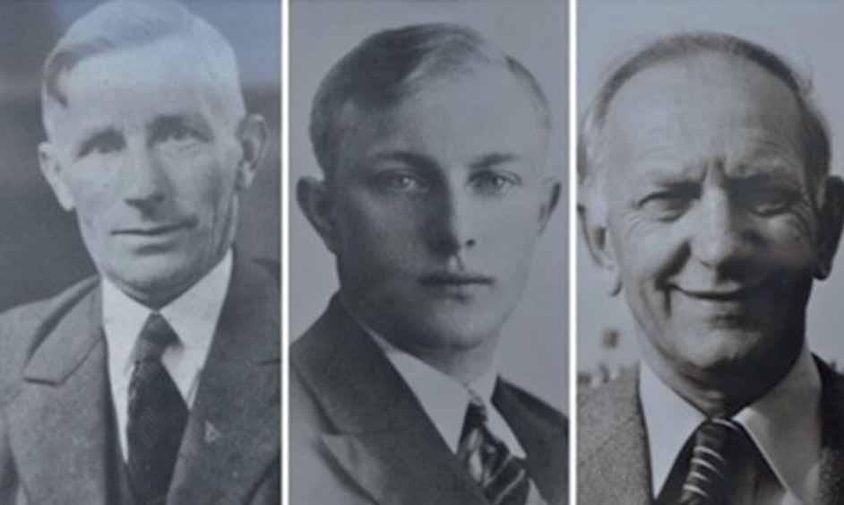 Verschillende generaties Van Buren