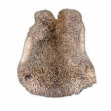 Hazen grey-brown rabbit skin