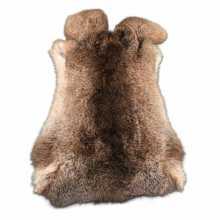 Hazen red-brown rabbit skin
