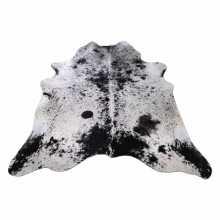 Grijs/Zwart gevlekte koeienhuid